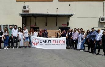 Genç Gönüllülerden İhtiyaç Sahiplerine Gıda Yardımı