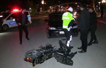 Kahramanmaraş'ta Otomobil İle Motosiklet Çarpıştı: 1 Yaralı