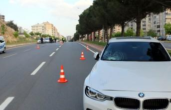Otomobilin Çarptığı Kişi Yaralandı