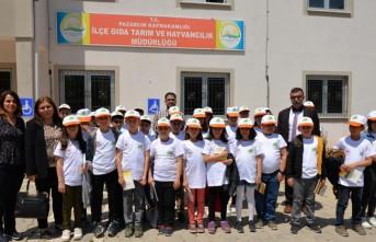 Pazarcık İlçesinde Lider Çocuk Tarım Kampı Düzenlendi