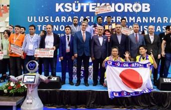 Robot Yarışması Ödülleri Dağıtıldı