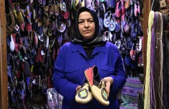 Yemeni ve Çarığa Kadın Eli Değdi