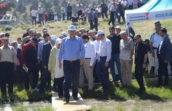 Çağlayancerit'te 1. Ayran Pınarı Festivali Düzenlendi