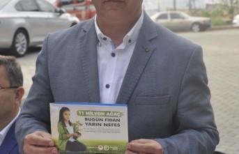 """Kahramanmaraş'tan """"Geleceğe Nefes Kampanyası""""na Destek"""