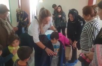 Simya Koleji Okul Aile Birliğinden Kardeş Anaokulu Öğrencilerine Ara Tatil Hediyesi