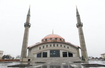 KSÜ Avşar Yerleşkesindeki Cami İbadete Açıldı