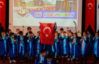 KSÜ Çocuk Üniversitesi 2. Dönem Mezuniyet Töreni