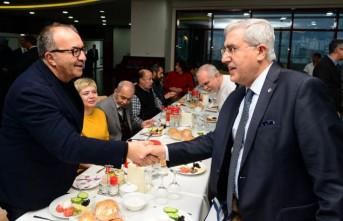 KSÜ Rektörü Can Basın Mensuplarıyla Bir Araya Geldi