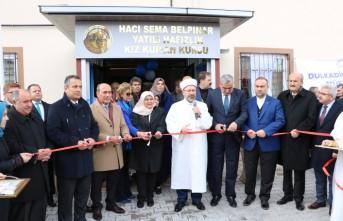 Diyanet İşleri Başkanı Erbaş, Kur'an Kursu Açtı