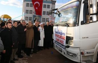 Elazığ İçin Toplanan Yardımlar Pazarcık'tan Yola Çıktı
