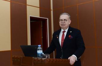Kahramanmaraşlı Tümamiral Dr. Cihat Yaycı, KSÜ'de Konferans Verdi