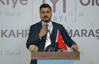 İYİ Partili Kılıç, Onikişubat İlçe Başkanlığına Tekrar Adaylığını Açıkladı