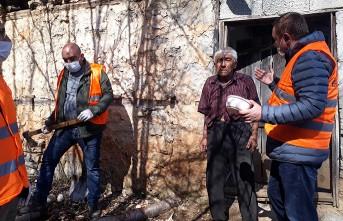 Andırın'da Vefa Destek Grubu İhtiyacı Olan Vatandaşlara Ulaştı