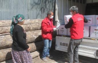 Büyükşehir Belediyesinden İhtiyaç Sahibi Ailelere Gıda Yardımı