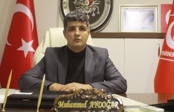 Başkan Aydoğar'ın Ramazan Bayramı Mesajı