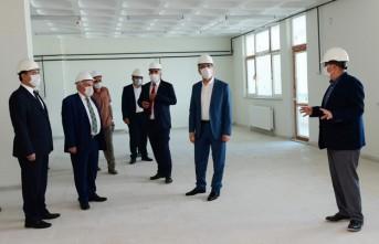 Başkan Güngör Kuyumcukent'te İncelemelerde Bulundu