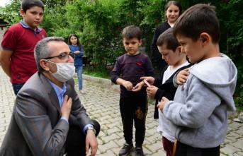 Başkan Güngör'den Şehit ve Gazi Alilerine Bayram Ziyareti
