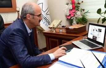 Başkan Okay, Selçuk Bayraktar'ı Dulkadiroğlu'na Davet Etti