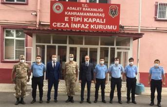 Cumhuriyet Başsavcısı Yazıcı'dan Ceza İnfaz Kurumu Personeline Ziyaret