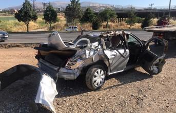 Kahramanmaraş'ta Otomobil Takla Attı, 2 Ölü