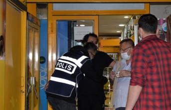 Polisin Daha Önce Çilingirle Girdiği Tekel Bayisi Yine Satış Yaparken Yakalandı