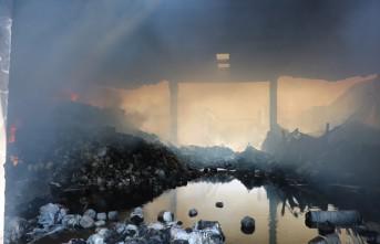 Aral Tekstil'deki Yangının Boyutu Gün Ağarınca Ortaya Çıktı