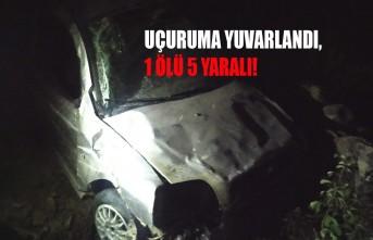 Kahramanmaraş'ta Feci Kaza! 1 Ölü 5 Yaralı