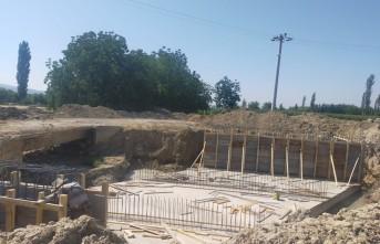 KMBB'nin Bozlar'da Köprü Çalışmaları Devam Ediyor