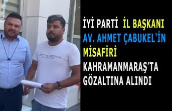 İlave TV Muhabiri Arif Kocabıyık, Kahramanmaraş'ta Gözaltına Alındı
