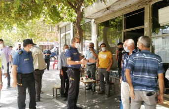 Kahramanmaraş Emniyet Müdürü Cebeloğlu'dan Afşin'de Kovid-19 Denetimi