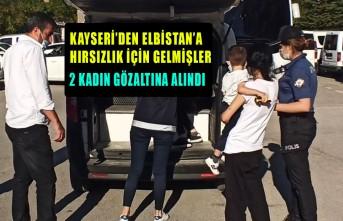 Kahramanmaraş'ta Hırsızlık Zanlıları Son İşlerinde Yakalandı