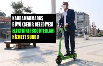Kahramanmaraş'ta Scooterlı Ulaşım Dönemi
