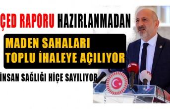 CHP'li Öztunç, İsyan Etti