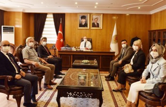 İYİ Parti Kahramanmaraş İl Başkanlığından Vali Coşkun'a Ziyaret