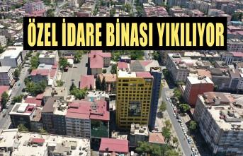 KMBB, Özel İdare Binasını Yıkıp, Yerine Kent Meydanı Yapacak