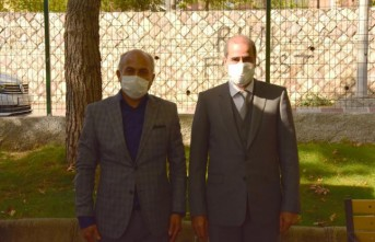 Emniyet Müdürü Cebeloğlu'dan Muhtarlar Günü ziyareti