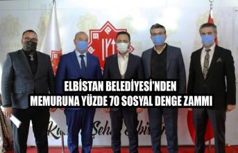 Elbistan Belediyesi'nden Memuruna Yüzde 70 Sosyal Denge Zammı