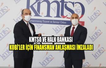 KMTSO ve Halk Bankası KOBİ'ler İçin Finansman Anlaşması İmzaladı