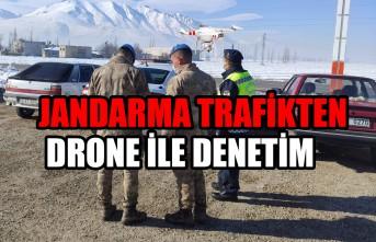 Kahramanmaraş'ta  Jandarma Trafikten Drone İle Denetim