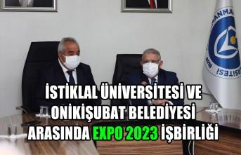 Onikişubat Belediyesi ile İstiklal Üniversitesi Arasında Expo 2023 İşbirliği
