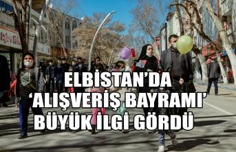 Elbistan'da 'Alışveriş Bayramı' Büyük İlgi Gördü