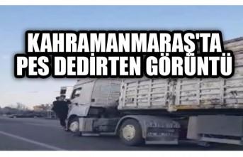 Kahramanmaraş'ta Pes Dedirten Görüntü