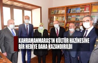 Kahramanmaraş'ın Kültür Hazinesine Bir Hediye Daha Kazandırıldı