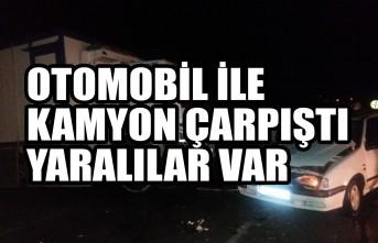 Kahramanmaraş'ta Otomobil İle Kamyon Çarpıştı Yaralılar Var