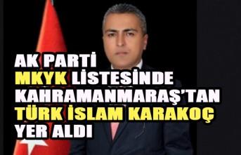Mahir Ünal'ın Yerine Türk İslam Karakoç MKYK'da