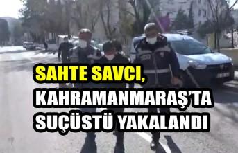 Sahte Savcı, Kahramanmaraş'ta Suçüstü Yakalandı