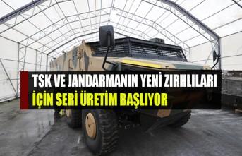 TSK Ve Jandarmanın Yeni Zırhlıları İçin Seri Üretim Başlıyor