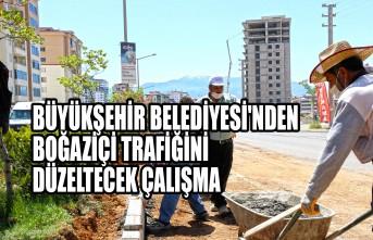 Büyükşehir Belediyesi'nden Boğaziçi Trafiğini Düzeltecek Çalışma