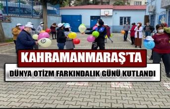 Kahramanmaraş'ta Dünya Otizm Farkındalık Günü Kutlandı