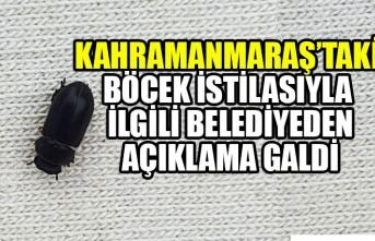 Kahramanmaraş'taki Böcek İstilasıyla İlgili Belediyeden Açıklama Geldi